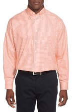 Non-Iron Classic Fit Gingham Dress Shirt (Online Only)